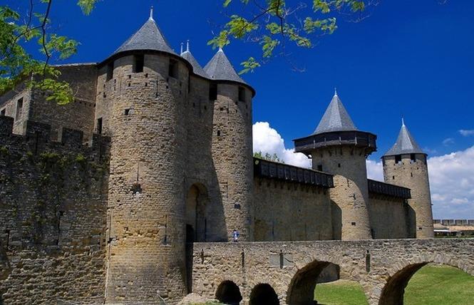CHATEAU ET REMPARTS DE LA CITE DE CARCASSONNE 1 - Carcassonne