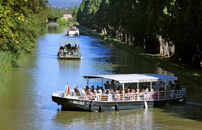 BATEAU PROMENADE - LOU GABARET -  HELIOS 3 - Carcassonne